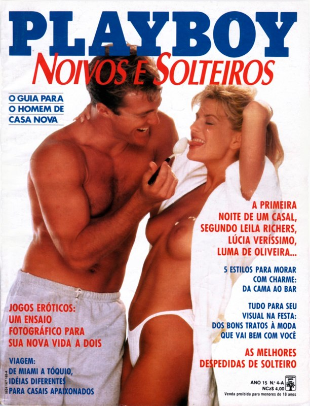 Playboy magazine cover