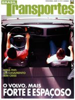 Brasil Transportes Magazine Cover