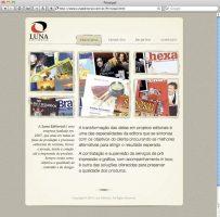 Luna Web Site