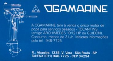 Ogamarine Advertisement